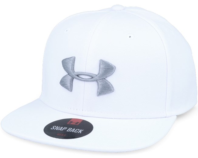 a963a9bc4e215 Mens Elevate Update White Snapback - Under Armour caps ...