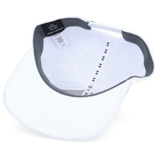 5a162a3646b Mens Elevate Update White Snapback - Under Armour caps - Hatstoreworld.com
