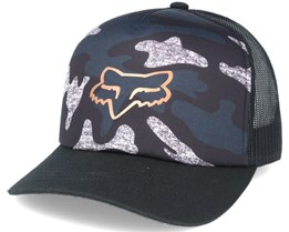 Copper Topper Black/Camo Trucker - Fox