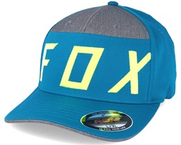 Moth Splice Maui Blue Flexfit - Fox