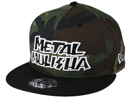 Disrupt 9Fifty Black Camo Snapback - Metal Mulisha