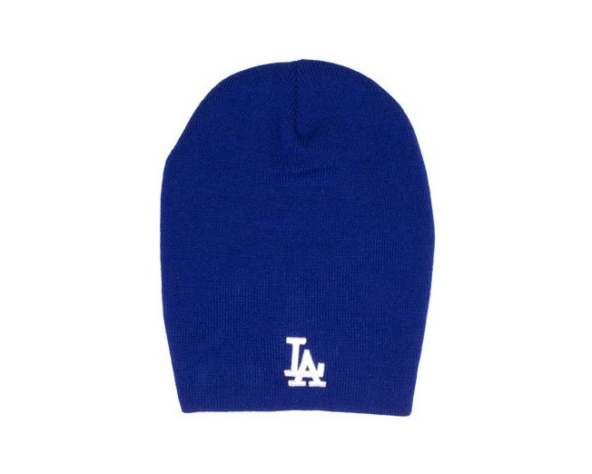 2839828d350 LA Dodgers Gathered Slouch - New Era beanie - Hatstore.co.in
