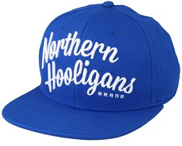 The Classic Snapback Royal Blue - Northern Hooligans