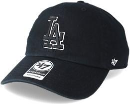 Los Angeles Dodgers Clean Up Black 2 Adjustable - 47 Brand
