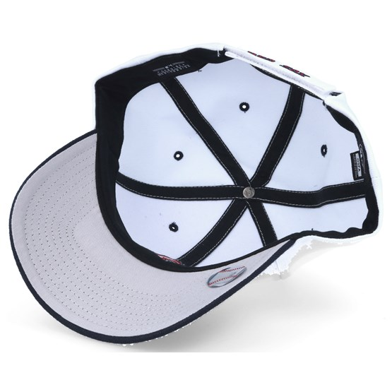 the latest 948a4 b1033 Boston Red Sox Audible 2 Tone Mvp White black Adjustable - 47 Brand cap -  Hatstore.co.in