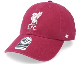 Liverpool FC Clean Up Cardinal Dad Cap - 47 Brand