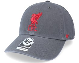 Liverpool Fc Clean Up Charcoal Dad Cap - 47 Brand