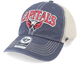 Washington Capitals Tuscaloosa Clean Up Dad Cap Vintage Navy/Beige Trucker - 47 Brand