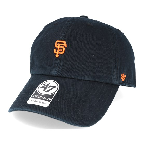outlet store 9d078 acafb San Francisco Giants Abate Clean Up Black Adjustable - 47 Brand caps    Hatstore.co.uk