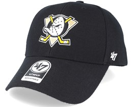 Anaheim Ducks Mvp Black Adjustable - 47 Brand