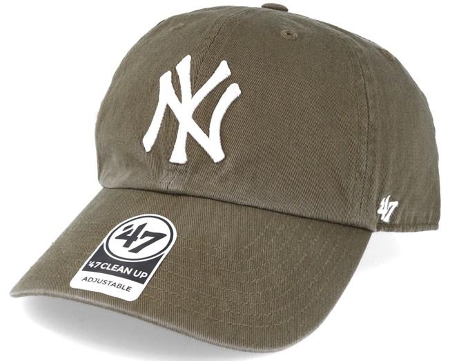 New York Yankees Clean Up Sandalwood Green Adjustable - 47 Brand ... fb6cf43f839