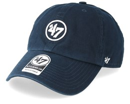 0a4f6adf7a67c Brand Logo Clean Up Navy Adjustable - 47 Brand