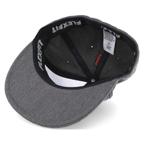 6e1928dbcb4 Home Team Flexfit Dark Heather Grey Snapback - Vans caps