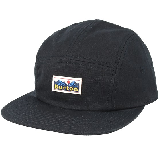 c0a0f6316 Cordova True Black 5 Panel - Burton caps - Hatstoreworld.com