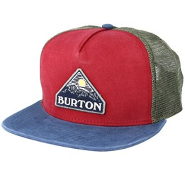 21cf5628e810d Cordova 5 Panel True Black Strapback - Burton caps ...