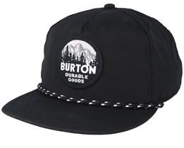 Mallet True Black Snapback - Burton