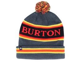 Trope Grey/Red/Yellow/Orange Pom - Burton