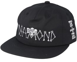 Secrets Die Black Snapback - Diamond