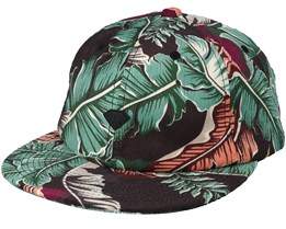 Tropical Paradise Uc 6 Panel Strapback - Diamond
