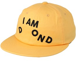 I am Sp19 Yellow/Black Strapback - Diamond