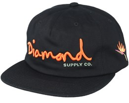 Og Script Sp19 Black Snapback - Diamond