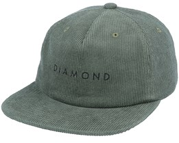 Leeway Unstructured Army Snapback - Diamond