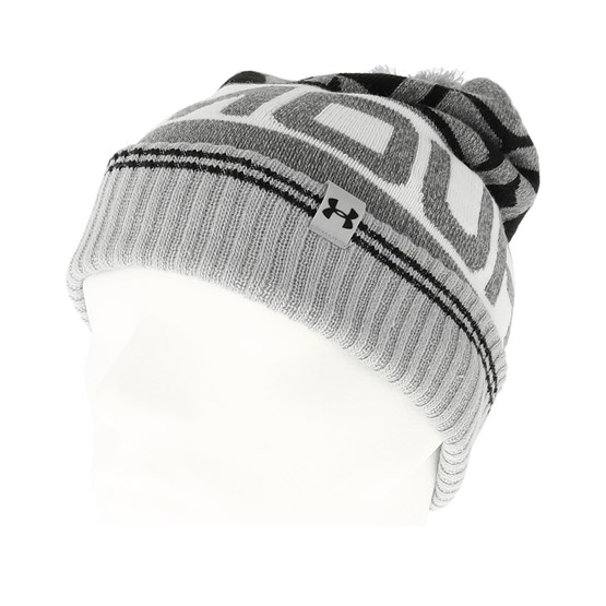 16c80eaefd7 Retro Beanie 2.0 Overcast Grey Pom - Under Armour beanies -  Hatstoreworld.com