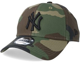 b41e09ac46793 New York Yankees League Essential 9Forty Camo Black Adjustable - New Era