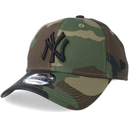 New Era New York Yankees League Essential 9Forty Camo Black Adjustable - New  Era  24.29  24.99 e18f4999cd4f