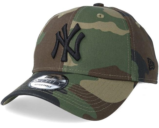 b99875cce0ccf New York Yankees League Essential 9Forty Camo Black Adjustable - New Era  caps - Hatstoreaustralia.com