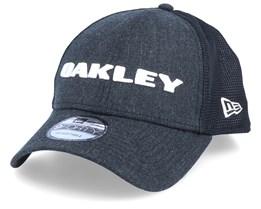 9Forty Heather Black/Black Trucker - Oakley