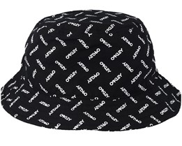Logo Hat Black/White Bucket - Oakley