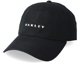 Reflective 6 Panel Black Adjustable - Oakley
