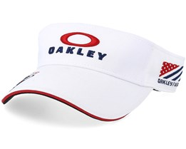 EMB White/Red/Navy Visor - Oakley