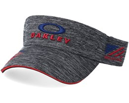 EMB Dark Grey/Navy/Red Visor - Oakley