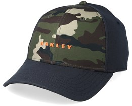 Solid 6 Panel Camo/Charcoal Flexfit - Oakley