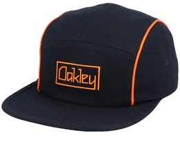 Pipe Black/Orange 5-Panel - Oakley