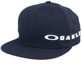 BG Side Logo 12.0 Blackout Snapback - Oakley
