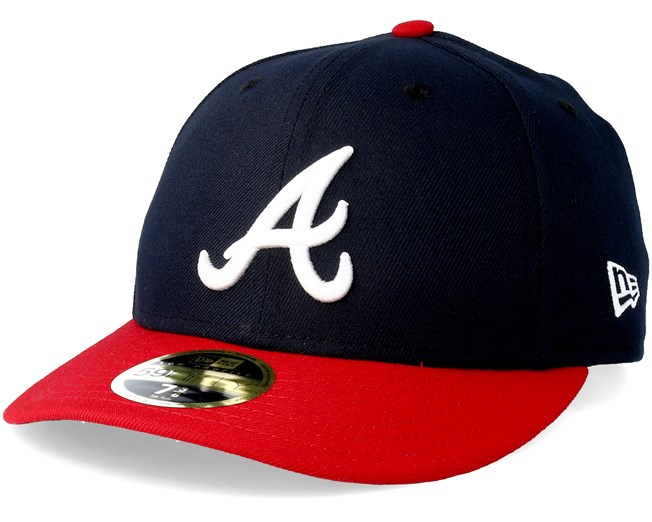 meet 3426c d6182 Atlanta Braves Game Authentic Collection Low Profile 59fifty - New Era caps  - Hatstoreaustralia.com
