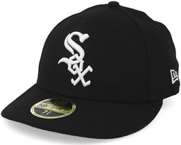Chicago White Sox Low Crown Ac Perfermance Black/White Fitted - New Era