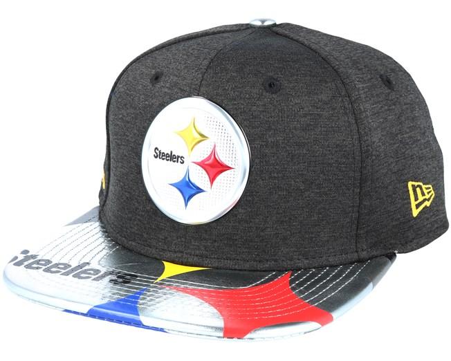 Pittsburgh Steelers Draft 2017 9Fifty Heather Black Snapback - New Era -  casquette  8a018b44419e