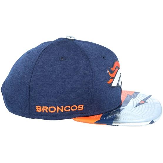 89ed8cddc Denver Broncos Draft 2017 9Fifty Navy Snapback - New Era