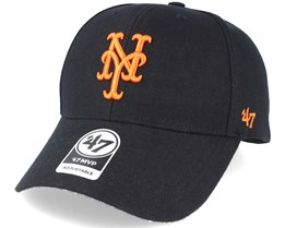 check out 83def 56947 New York Mets Mvp Black Adjustable - 47 Brand