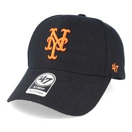 5821158f3 New York Mets Mini Wordmark 9Forty Orange Adjustable - New Era caps ...