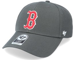Boston Red Sox Mvp Charcoal/Red Adjustable - 47 Brand
