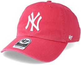 New York Yankees Clean Up Berry Adjustable - 47 Brand 91090f8e03d