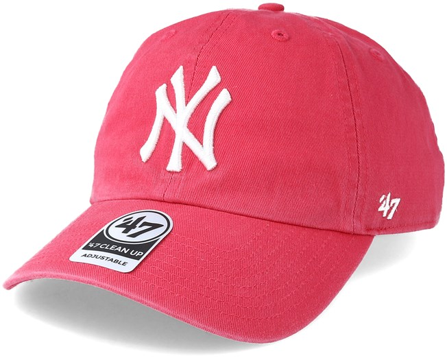 New York Yankees Clean Up Berry Adjustable - 47 Brand caps -  Hatstoreaustralia.com cfb67f89a50c