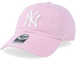 New York Yankees Clean Up Petal Pink Adjustable - 47 Brand