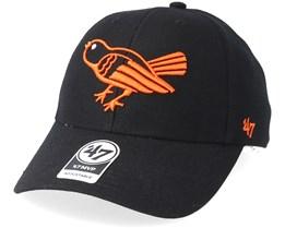 Baltimore Orioles Cooperstown Mvp Black Adjustable - 47 Brand