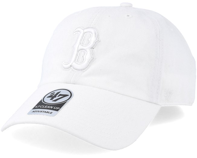Boston Red Sox Clean Up White Adjustable - 47 Brand - Start Gorra - Hatstore 05215dca9e6
